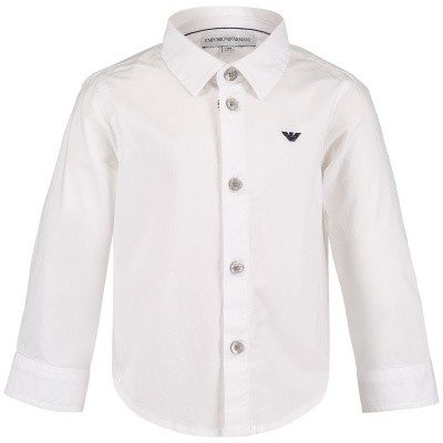 Picture of Armani 8NHC01 baby blouse white
