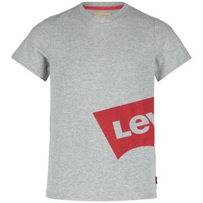 Afbeelding van Levi's NN10127 kinder t-shirt grijs