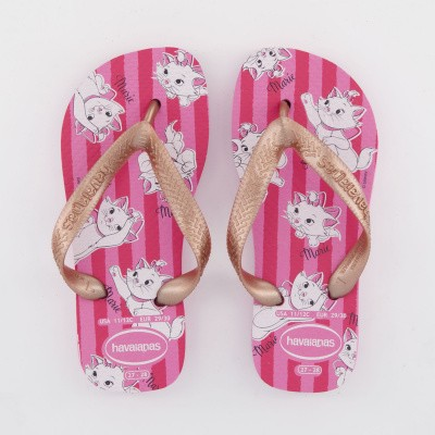 Picture of Havaianas 4131976 kids flipflops rose