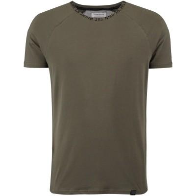 Afbeelding van Pure White 18030113 heren t-shirt army
