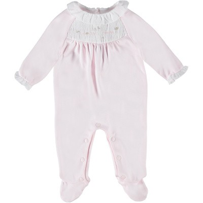 Picture of Tartine et Chocolat TN54041 baby playsuit light pink