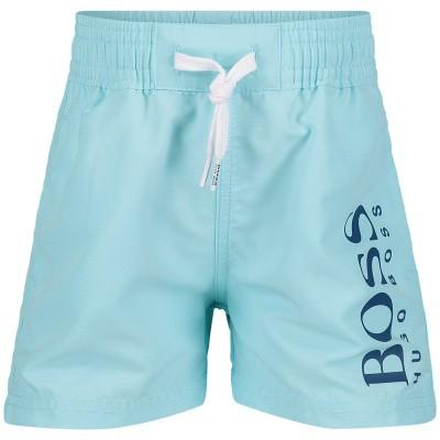 Picture of Boss J04325 baby swimwear mint