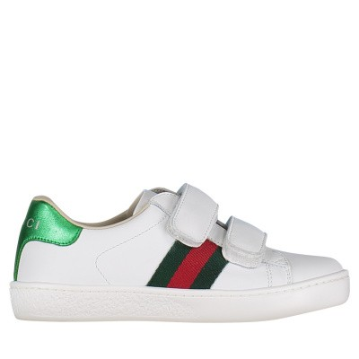 Picture of Gucci 455448 CPWP0 kids sneakers white