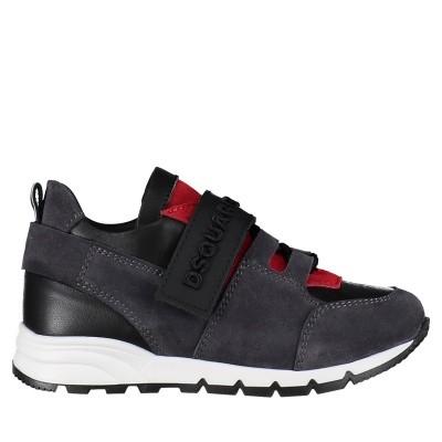 Afbeelding van Dsquared2 57032 kindersneakers zwart