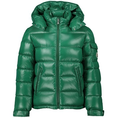Afbeelding van Moncler 4185205 kinderjas groen