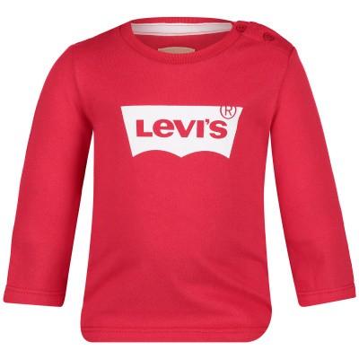 Afbeelding van Levi's NN10034 baby t-shirt rood