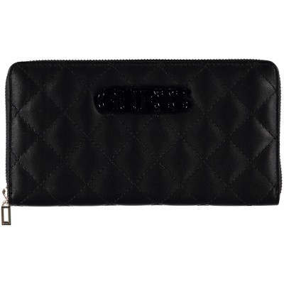 Picture of Guess SWVG7302630 womens wallet black