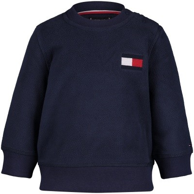 Picture of Tommy Hilfiger KB0KB04427B baby sweater navy