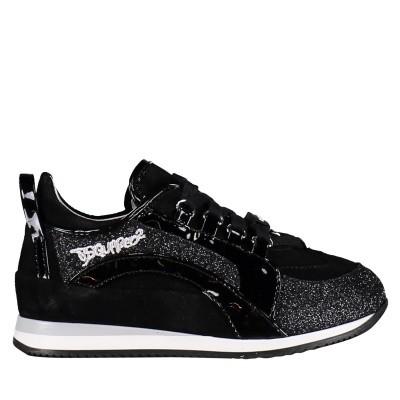 Afbeelding van Dsquared2 57106 kindersneakers zwart