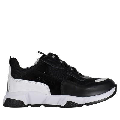 Afbeelding van My Brand UMB02 kindersneakers zwart