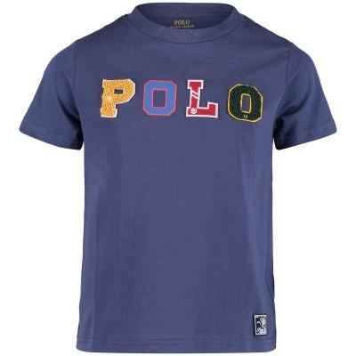 Afbeelding van Ralph Lauren 322703496 kinder t-shirt blauw