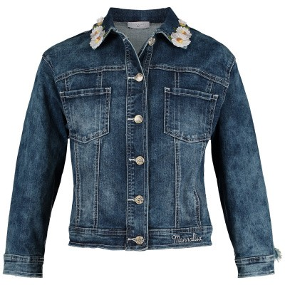 Picture of MonnaLisa 193100R1 kids jacket jeans