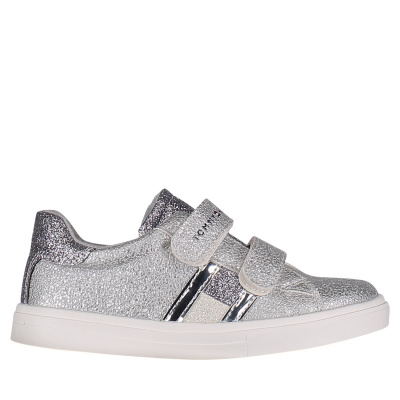 Picture of Tommy Hilfiger 30287 kids sneakers silver