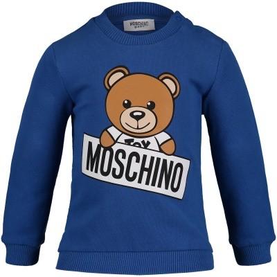 Foto van Moschino M5F00T baby sweater light gray