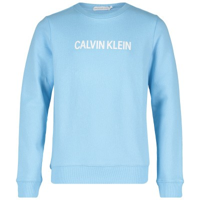Picture of Calvin Klein IB0IB00119 kids sweater light blue