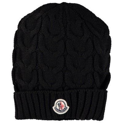 Picture of Moncler 00011005 kids hat black