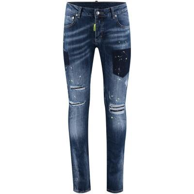 Afbeelding van My Brand MMBJE005G3077 heren jeans blauw