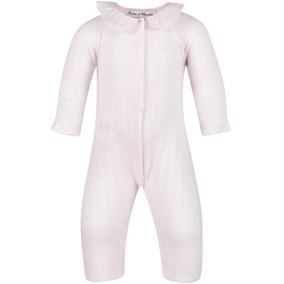 Picture of Tartine et Chocolat TN32051 baby playsuit light pink