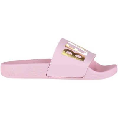 Afbeelding van The white Brand BEACH KIDS kinderslippers licht roze
