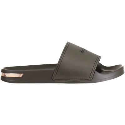 Afbeelding van Mallet TE2001 heren slippers army