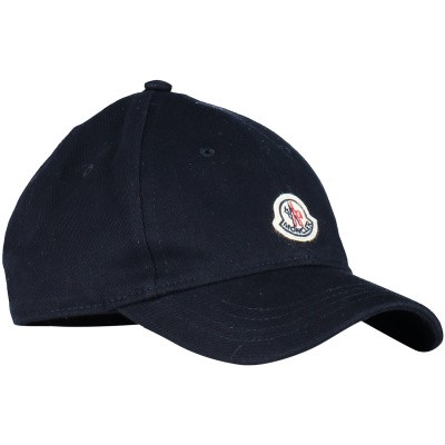 Picture of Moncler 0012105 kids cap navy