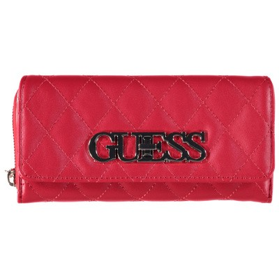 b5dc4a0466b Afbeelding van Guess SWVG7175620 dames portemonnee rood