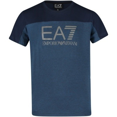 Afbeelding van EA7 6ZBT56 kinder t-shirt navy