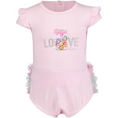 Afbeelding van Lapin 81E5282 baby t-shirt roze