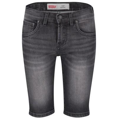 Afbeelding van Levi's NN25127 kinder shorts zwart