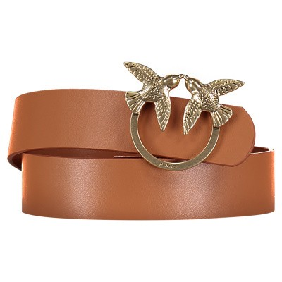 Picture of Pinko 1P21DA womens belt light brown