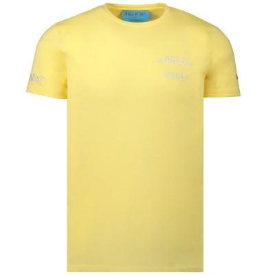 Afbeelding van in Gold We Trust WK001106011022TS heren t-shirt geel