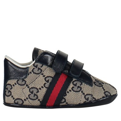 Picture of Gucci 502051 baby sneakers blue