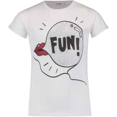 Afbeelding van Miss Grant 67255448 kinder t-shirt wit