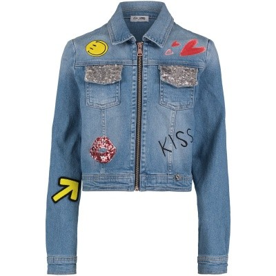 Afbeelding van Miss Grant 66488805 kinderjas jeans
