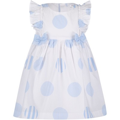Picture of Mayoral 1815 baby dress light blue