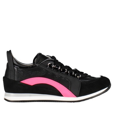Picture of Dsquared2 59776 kids sneakers black