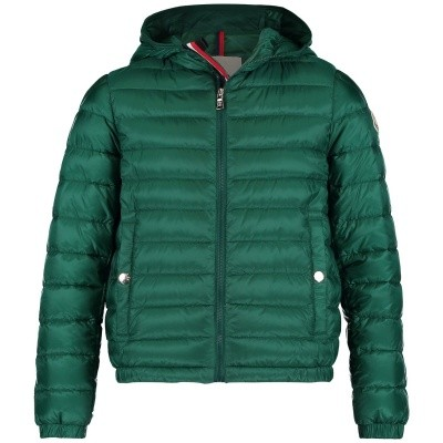 Picture of Moncler 4130799 kids jacket green