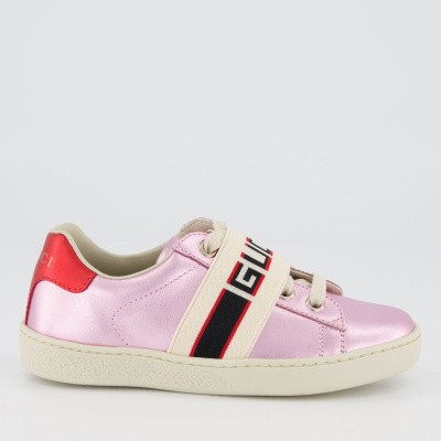 Picture of Gucci 552940 kids sneakers light pink