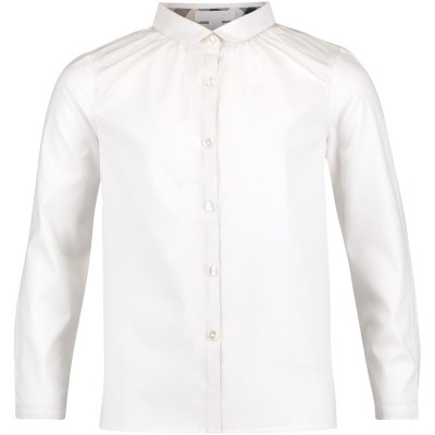 Afbeelding van Burberry 3997895 kinder overhemd wit