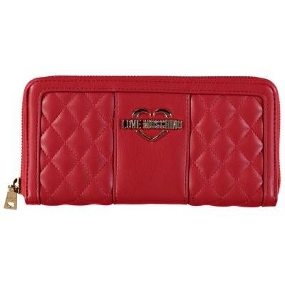 Afbeelding van Moschino JC5504 dames portemonnee rood