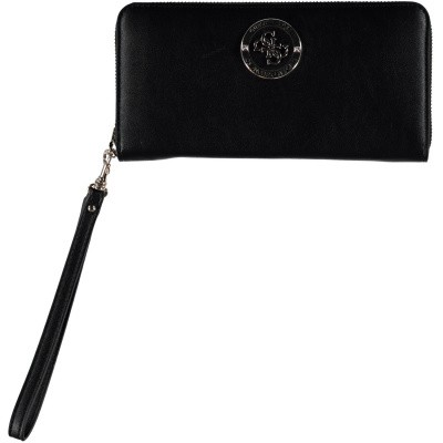 Picture of Guess SWVG7298460 womens wallet black