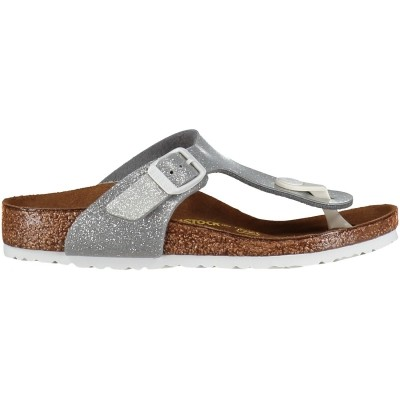 Picture of Birkenstock 847693 kids flipflop silver