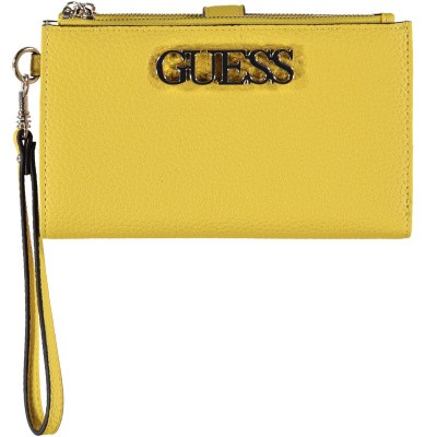 Picture of Guess SWVG7301570 womens wallet yellow