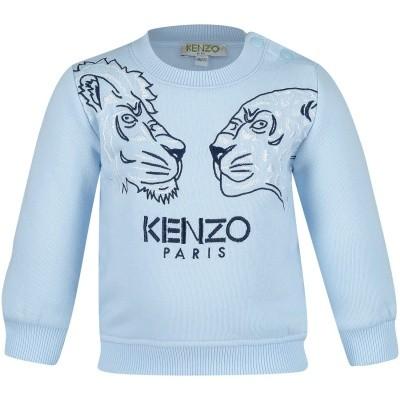Foto van Kenzo KM15537 baby trui licht blauw