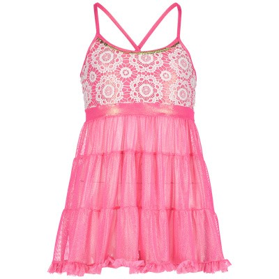 Picture of Pate de Sable REBL09 kids swimwear pink