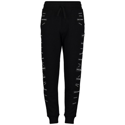 Picture of Dolce & Gabbana L4JPU5 kids jeans black