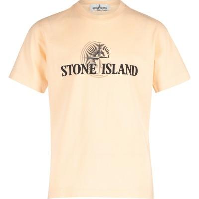 Afbeelding van Stone Island 701621455 kinder t-shirt zalm