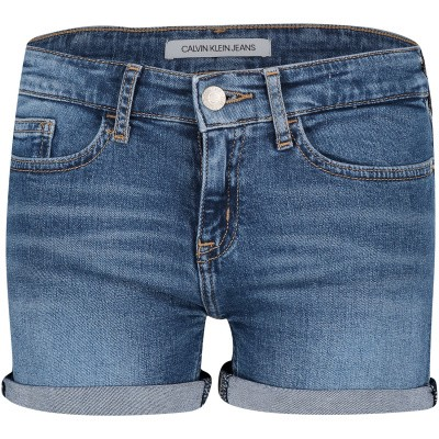 Picture of Calvin Klein IG0IG00081 kids shorts jeans