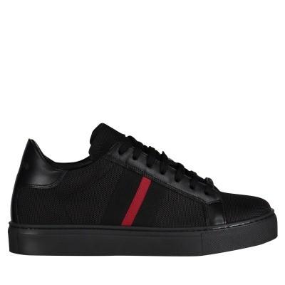 Afbeelding van Antony Morato MMFW01134 heren sneakers zwart