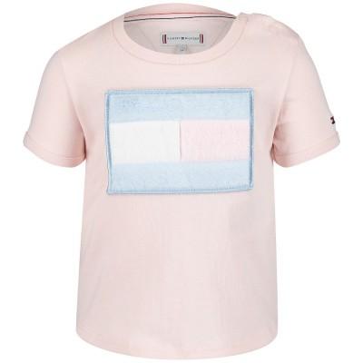 Picture of Tommy Hilfiger KG0KG04082B baby shirt light pink